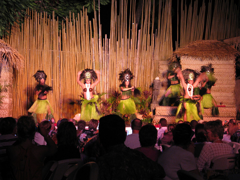 We had a variety of dances performed for the luau.