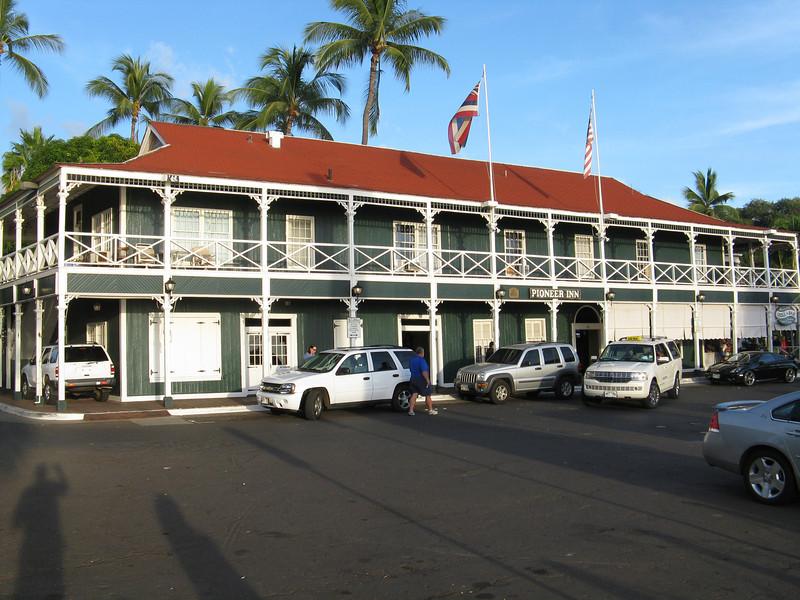 The Pioneer Inn.