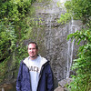 Bruce at the waterfall.