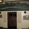 Picture in the Pioneer Inn lobby of the old whaling fleet.