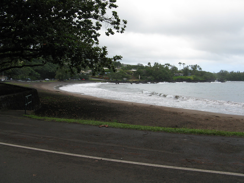 The beach at Hana.