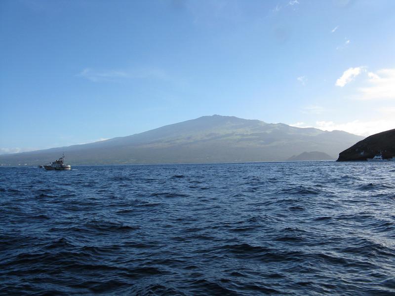 Haleakela in the distance.