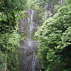 We headed on past Hana to Haleakela National Park and stopped at this waterfall.