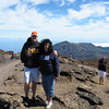 Bruce and Christine at the summit.