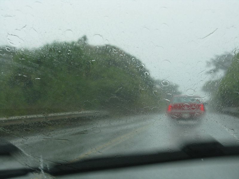 Hopefully the weather will be better when we get to Hana.