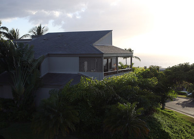 Sunset and House in Wailea, Maui