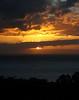 Sunset and House in Wailea, Maui