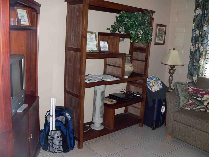Maui Sunseeker room 104 living room