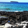 View of Molokini from Little Beach