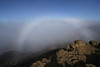 Fogbow on Mt. Haleakalá