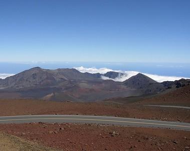 Haleakala Crater.