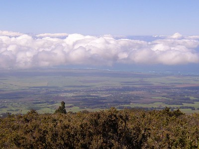 Views of west Maui.