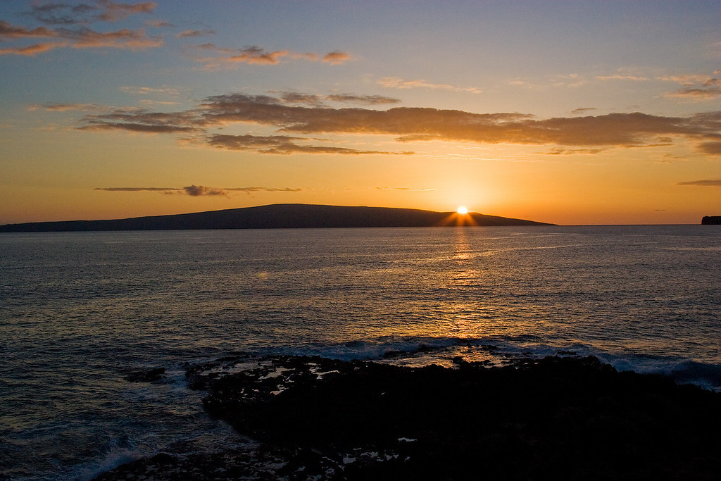 Sunset on Maui, January 2007