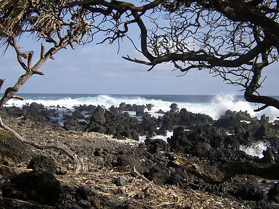 Ke'anae Peninsula.  Same place, different vantage point.