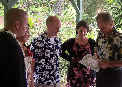 Now Bob, the officiant, who is Minister of Something, signs off on the marraige.  This is just before he sticks the certificate in the cake.