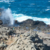 Nakalele Blowhole near Kahakuloa, Maui