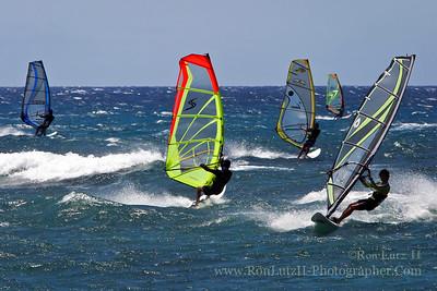 Hookipa Wind Surfing