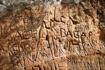 Modern Petroglyphs