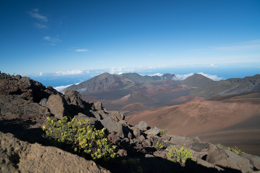 Red Hill, Haleakala National Park, Hawaii, USA