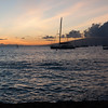 Sunset over Laha'ina Harbor