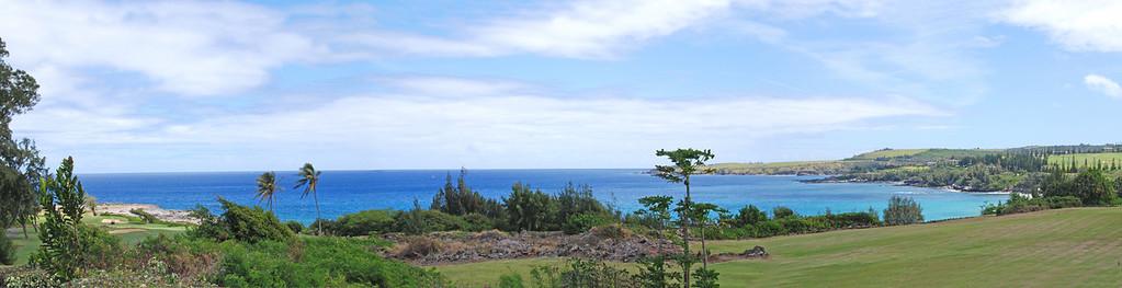 Kapalua Bay  3 shot panorama