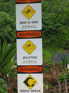 Yeah, I wasn't going to go swimming until I saw this sign.