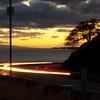 Sunset near Pali, Maui