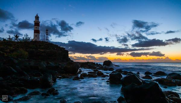 Albion | Lighthouse at dusk