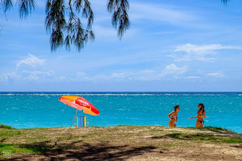 Flic en Flac | Tourists enjoying the great weather