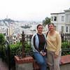 Top of winding street in SF