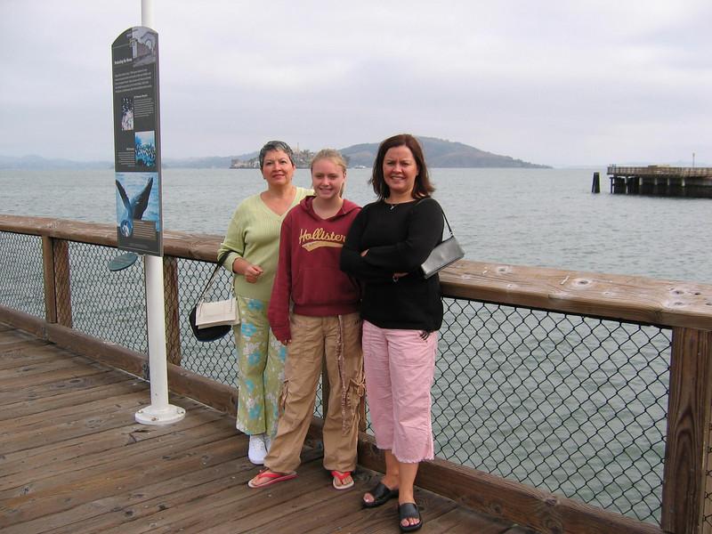 San Francisco Bay - Mom, Sara, Me