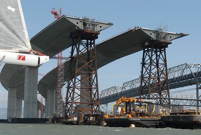 New Bay Bridge Construction