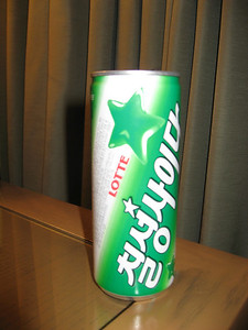 This is what I drink when I can.  It is very much like 7up, but they call it cider.