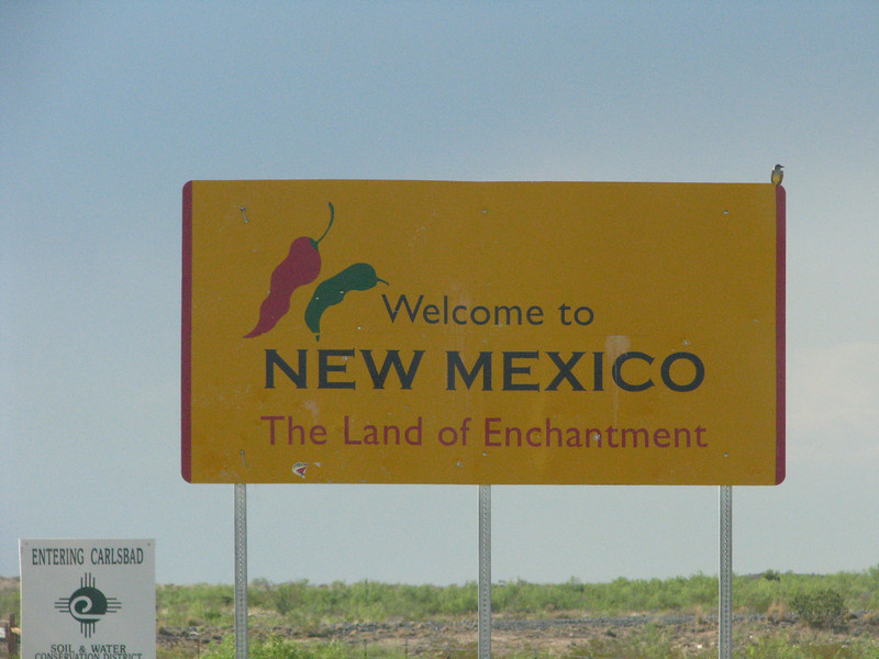 Welcome to New Mexico.
