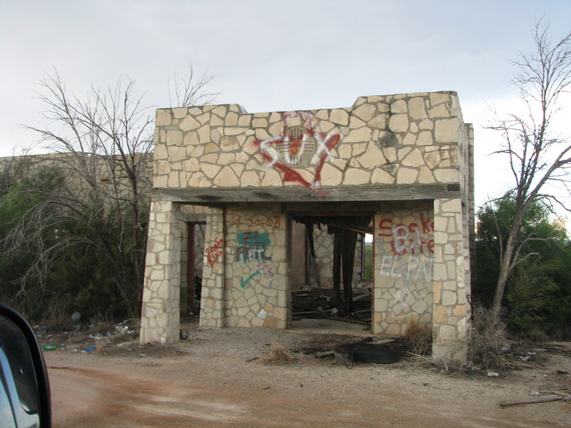 Another  structure ruin by griffi dogs.