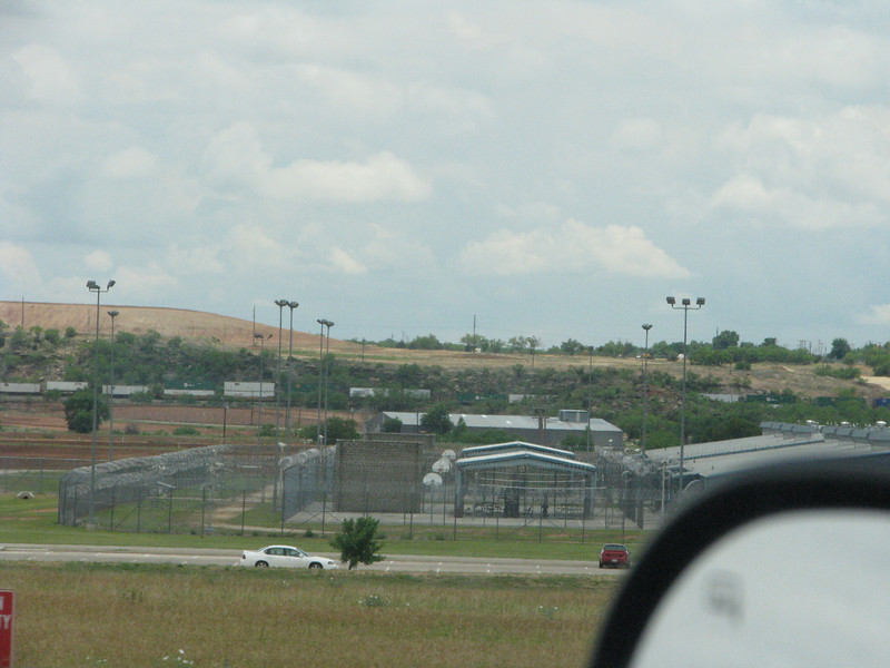 What's with this,building prisons along the interstate?