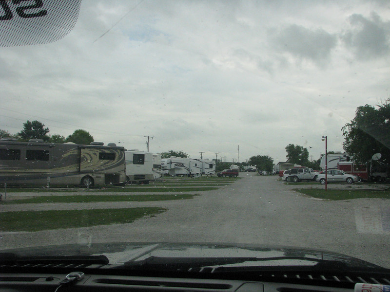 May 24,2009<br /> Leaving Cowtown RV Park this morning.
