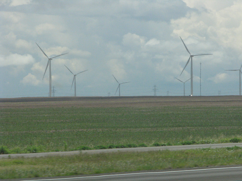 With all this open space, why not put up a few thousand wind generators.