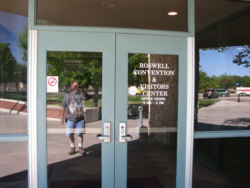 As I approached  the glass doors this ghostly figure appears of this guy with a beard wearing a wolf shirt,Oh wait a minute,it's me!. Darn, I had my camera to record a ghost.