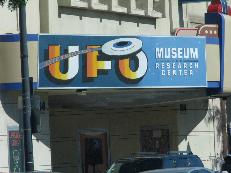 I've heard about this UFO research center on KFI640-Coast to Coast.