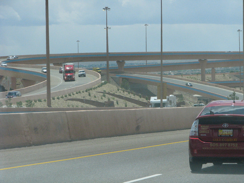 Back in Albuquerque, this interchange is locally known as the Big Five.