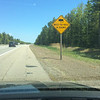 First time I have seen this Warning sign in North America.
