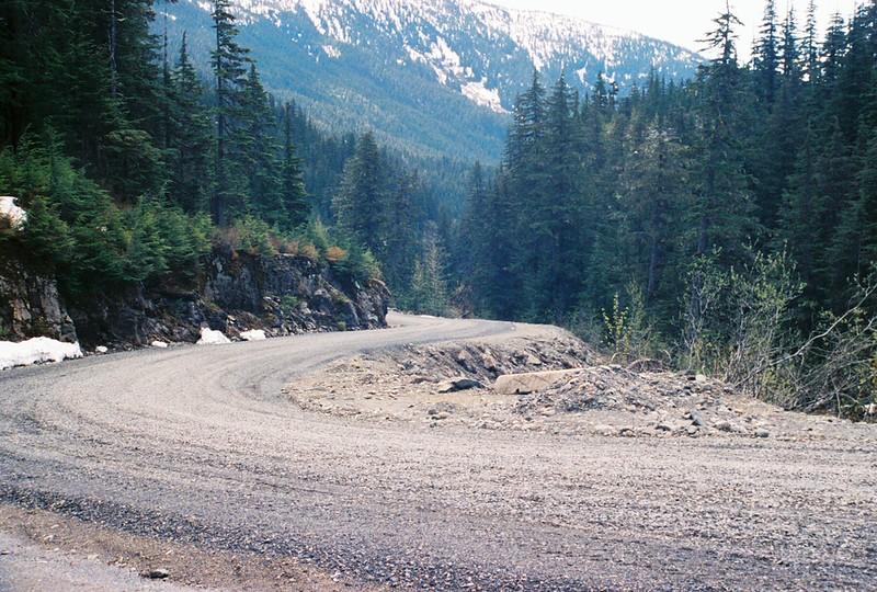Gotta love a curvy logging road!