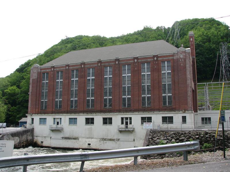 Powerhouse at Big Creek.