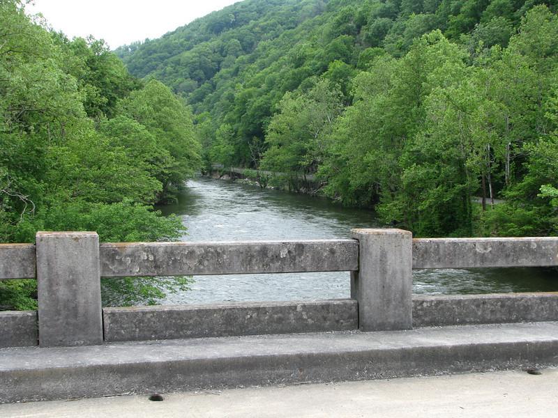 Bridge over Big Creek.