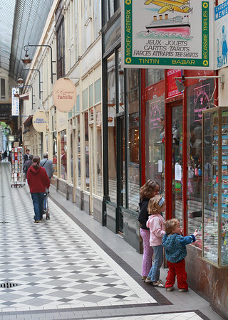 Passage Jouffroy, Paris, Saturday May 12, 2007