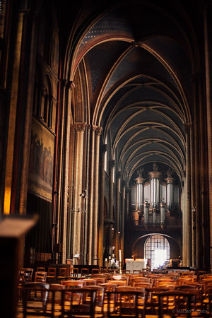 St-Germain-des-Prés Church, Paris, Sunday May 6, 2007 (Post-production Jan 2015)