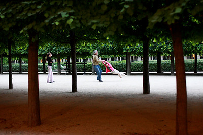 Jardin du Palais Royal, Paris, Friday May 11, 006