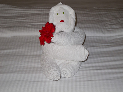 Towel Sculpture