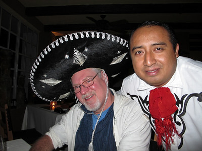 Gary & Meche, our server